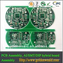 Carte PCB de LED pour le fabricant de carte PCB de lumières menées avec le prix direct usine PCB mené