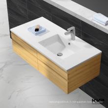 bassin de salle de bains avec meuble / lavabo en marbre artificiel / lavabo en pierre antique