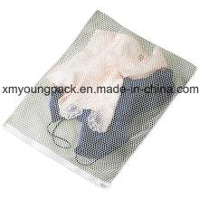 Werbeartikel Weiß Nylon Mesh Net Lingerie Wäsche waschen Beutel