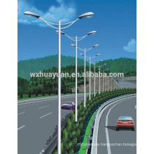 Steel light post available for freeway