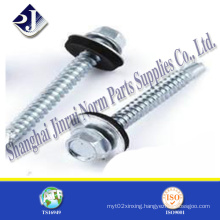 Hex Self Drilling Screw with Plastic Washer