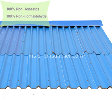 100% Non-asbestos Anti-Penuaan MGO Roof Tiles