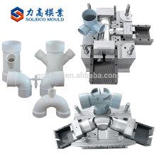 Personnalisé bon marché Hot haute qualité montage Pp plastique injection raccords moule / plastique tuyau moule / moule Maker