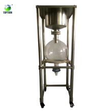 20L Lab Stainless Steel Vacuum Filter TOPT-CL-20 Industrial Filtration