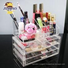 Jinbao personal customize crystal hot new acrylic box with drawer