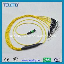 Волоконно-оптический соединительный кабель MPO-St