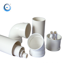 Manufacture 110mm upvc plastic tube fittngs drainage water irrigation  pvc  pipe price