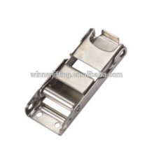 2 inches high quality stainless center bar buckle