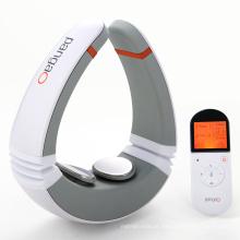 Massageador de terapia por impulso de pescoço com eletrodos