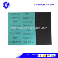 9 x 11 water abrasive sandpaper assorted wet/ dry