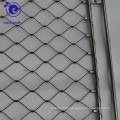 Flexible stainless steel handmade rope mesh