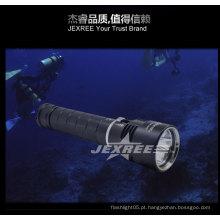 Swat lanterna lanterna de mergulho submersa levou de 100m