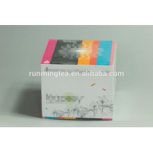 Caja de regalo personalizado caja caja de embalaje caja de té en flor