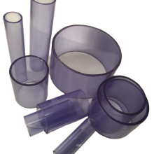 """1/2"""" to 8""""  flexible clear plastic pipes"""