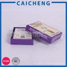 carte à jouer papier bleu
