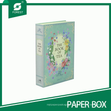 Шикарная книга бумажные формы коробки для чая упаковки