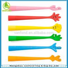 Custom made soft PVC magnetic pen for kids