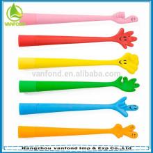 Feito-caneta magnética de PVC macio para crianças