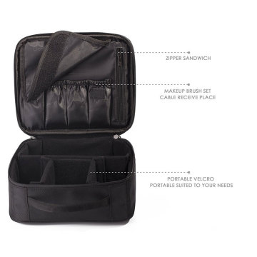 Eco Friendly Kosmetiska väska Makeup Travel Case
