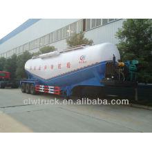 Fornecedor de fábrica barato 3 axle 58.5 cbm caminhão de transporte de cimento em massa, semi reboque tanque