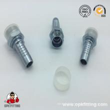 Connecteur de tuyau de siège de cône de 24 degrés métrique mâle standard d'Eaton