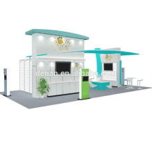Detian offer fashion island exhibition stand booth design