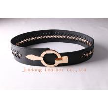 Wider Ladies Chain Fashionable PU Belts