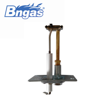 perakitan pilot burner pemanas air gas