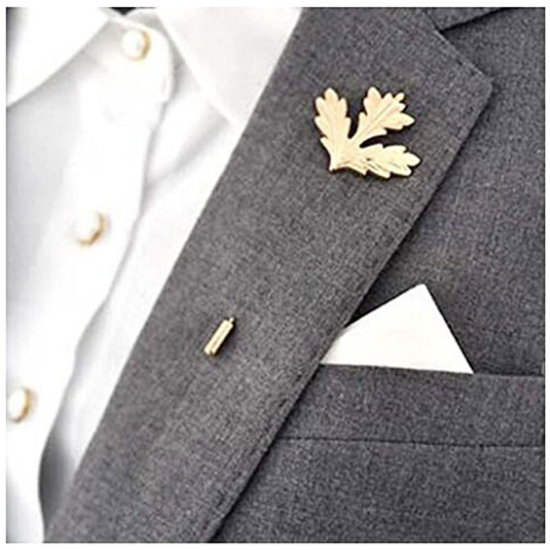 Maple Leaf Charms Stick Pin