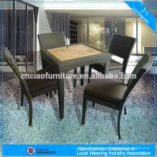 Outdoor dining set rattan furniture
