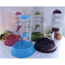 Alimentador de prato de copo de comida de cachorro de animal de estimação automático
