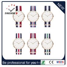 Promotion Sport Stainless Steel Fashion Lady Men′s Quartz Wrist Watch