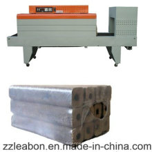 Machine de paquet thermo-rétrécissable semi-automatique de paquet pour la briquette en bois