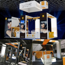 Detian offer 6x9 portable exhibition booth display for trade show