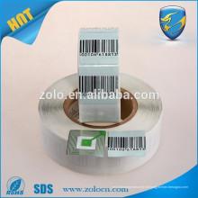 Etiqueta de rastreamento de GPS personalizada Etiqueta de código de barras EAS rf