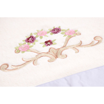 Terry Soft Towels Stickerei & Elegant Silk Patch