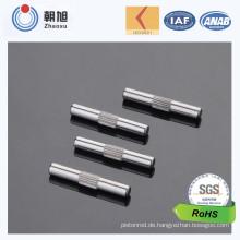 China Soem-Fabrik fertigte Verkäufe guten gerändelten Pin besonders an
