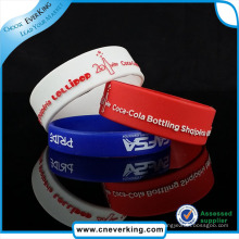 Silicone Wristband Digital Logo Printed Promotion Gift