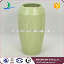 Forma de garrafa de cerâmica vaso vintage decoração feita na china