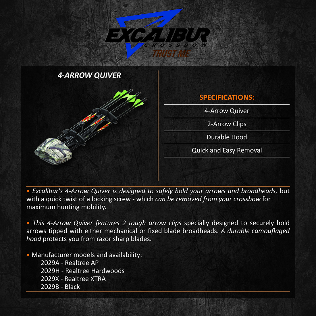 Excalibur_4Arrow_Quiver_Product_Description