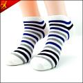 Stripe Man Ankle Sock Wholesale China Manufacturer Compression Socks