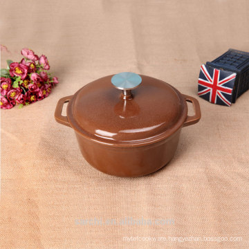 kitchen accessories enameled large size cooking pot