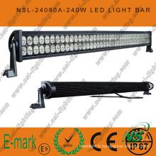 Chaud! ! Barre lumineuse LED 80PCS * 3W hors route, barre lumineuse LED Epstar 3W, barre lumineuse LED 42 pouces