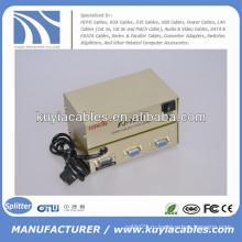 2 порта VGA Splitter Box для мониторов 150 МГц
