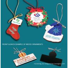 Wood Color Ornaments, organic glass, acrylic product , Plexiglass, acrylic