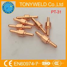 Electrodo de corte de plasma de cobre PT31