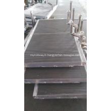 Radiateurs en aluminium pour moteur locomotif