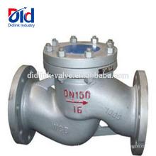 Wasserdruck V-Schieber 5 Montage der pneumatischen Funktion Rückschlagventil aus Stahlguss