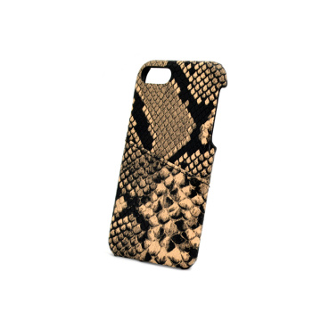 Python Funda de cuero con billetera para iPhone X