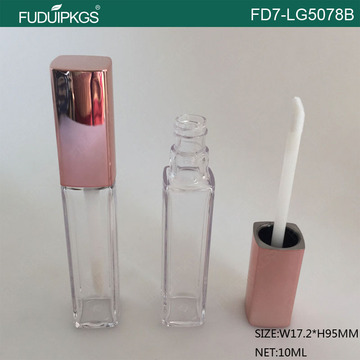 10ml Square Lip Gloss Container Tube